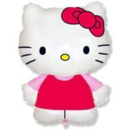 "Шар ""Hello Kitty с бантиком"" 81 см"
